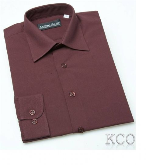 Regular Shirt Burgundy